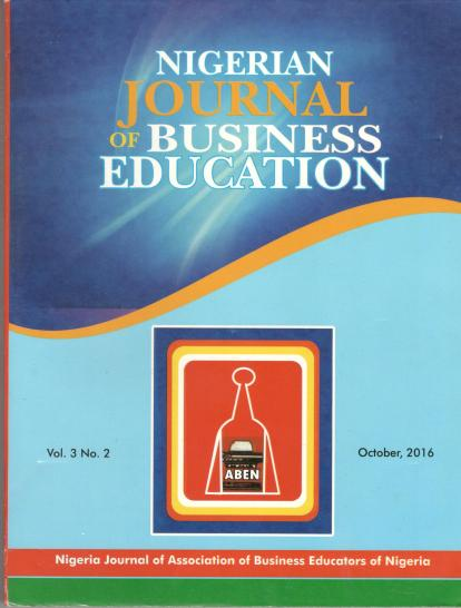 The Nigerian Journal of Business Education(NIGJBED)